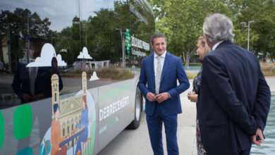 Photo of The Government's Green Bus Pilot Project started in Debrecen